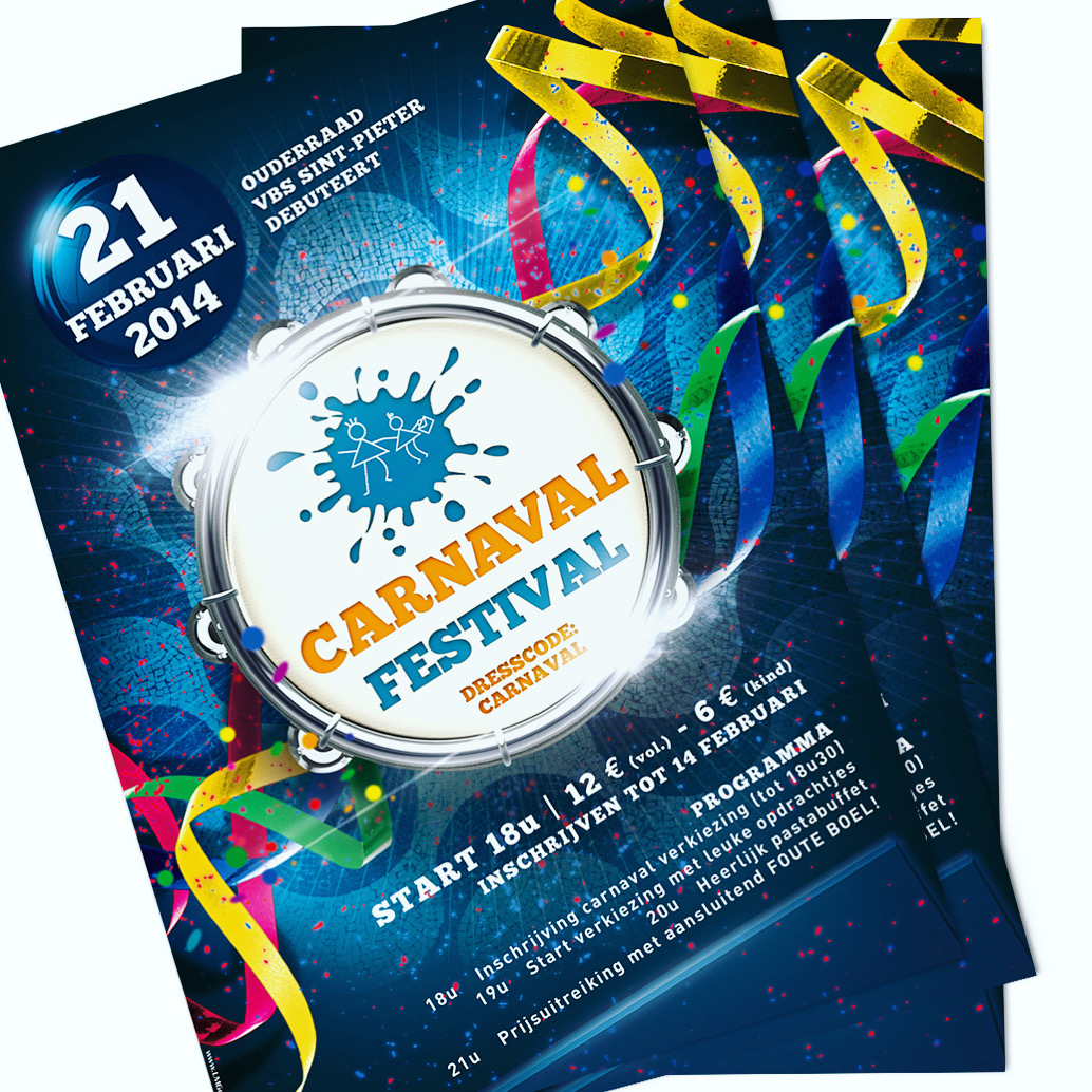 Affiche Carnaval Festival